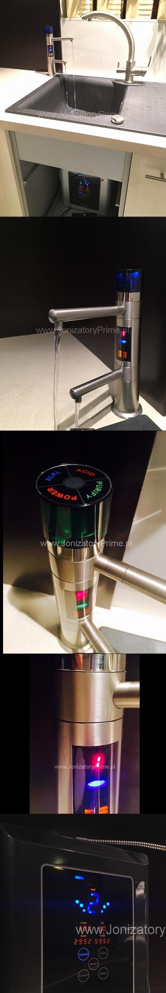 Jonizator wody pod blat, prime Water, podblatowy jonizator